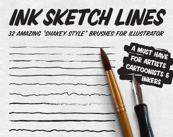 Ink Sketch Lines