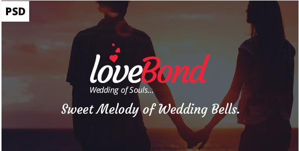 Best PSD Wedding Templates