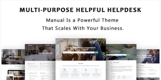 MANUAL Best WordPress Knowledge Base Themes