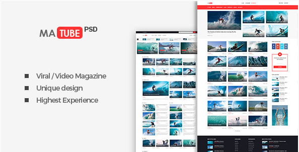 MaTube - Video Magazine for Sport and Viral