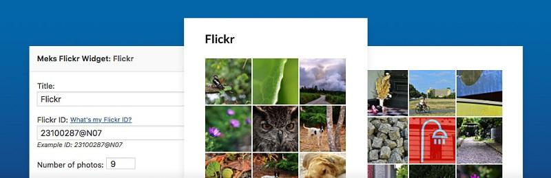 Meks Simple Flickr Widget