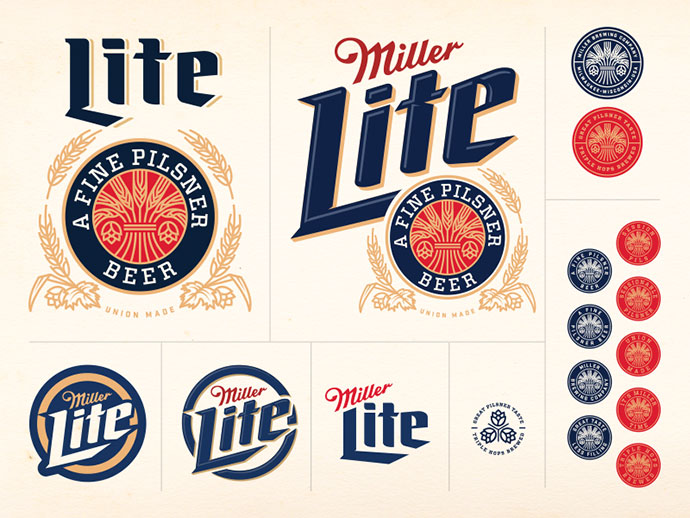 Miller Lite Concept by Brandon Rike