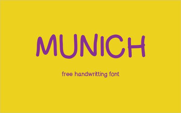 Munich-Typography-Font