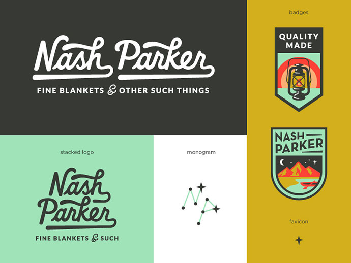 Nash Parker Blankets by Amy Hood