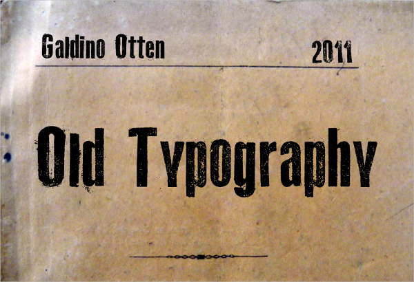 Old-Typography-Font
