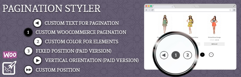 Pagination Styler Free WordPress Pagination Plugins