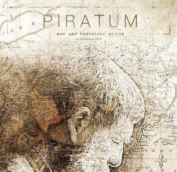 Piratum – Map Art