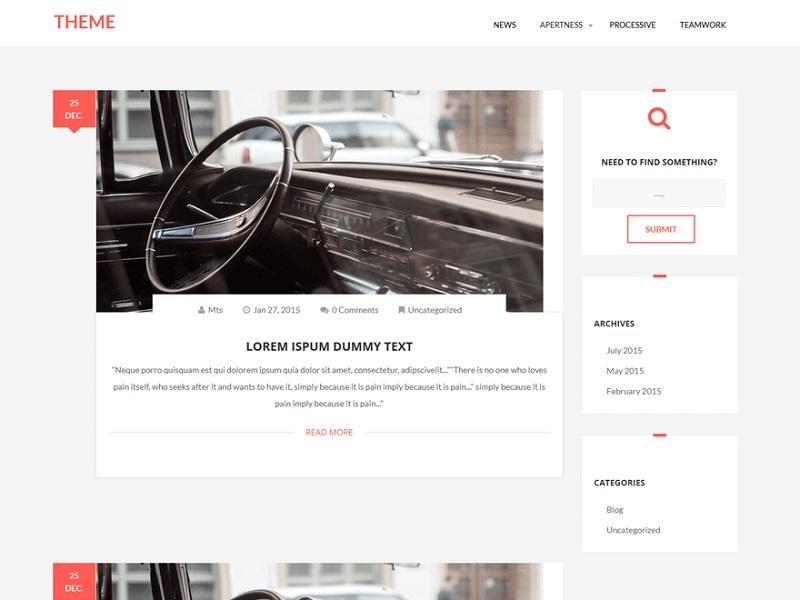 Plain Blog