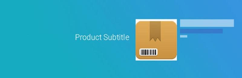 Product Subtitle
