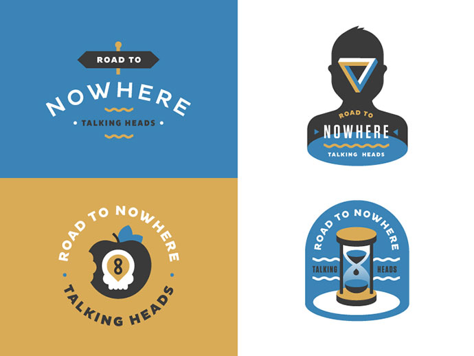 Road to Nowhere badges by Daniel Haire
