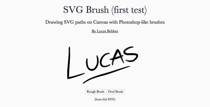 SVG Brush