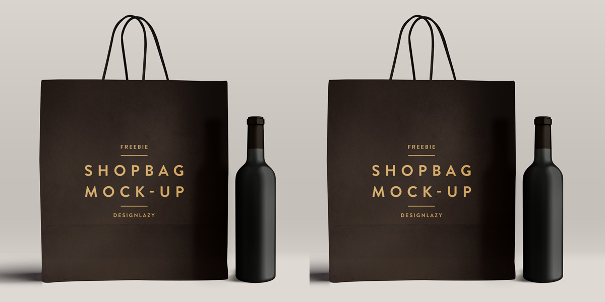 Shopping Bag Mockup Freebie