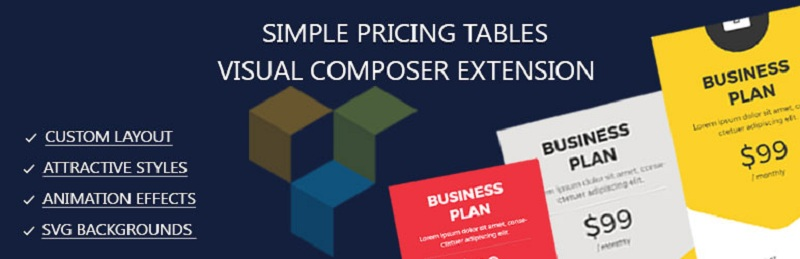 Simple Pricing Tables