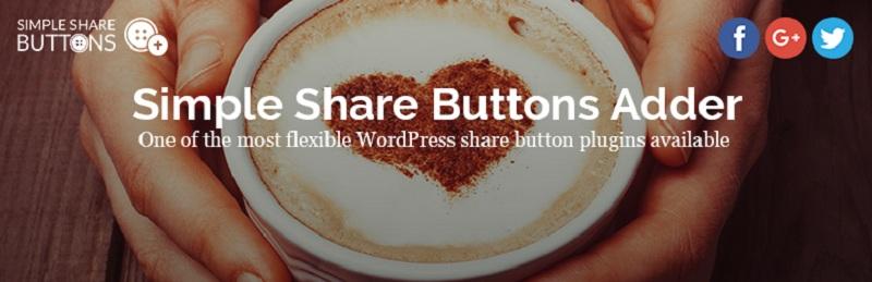 Simple Share Buttons Adder Free WordPress Plugin