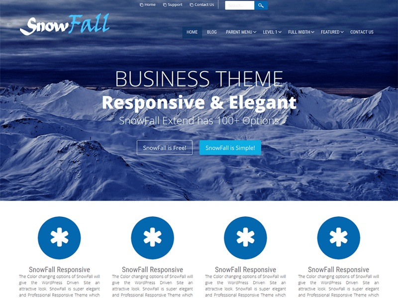 Free Business WordPress Themes
