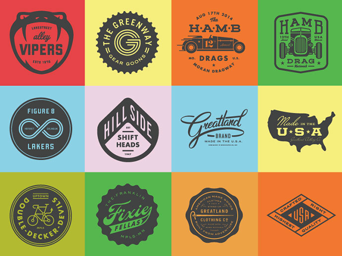 So Many Badges by Allan Peters