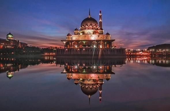 Sunrise @ Masjid Putrajaya