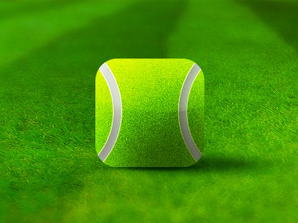 Tennis-ball-icon