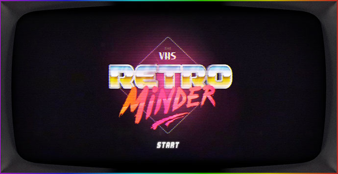 The VHS Retrominder