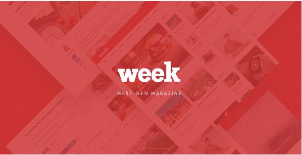 The Week - Magazine PSD Template