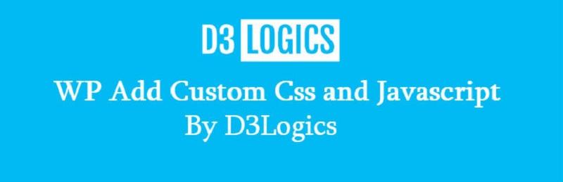 WP Add Custom Css and Javascript