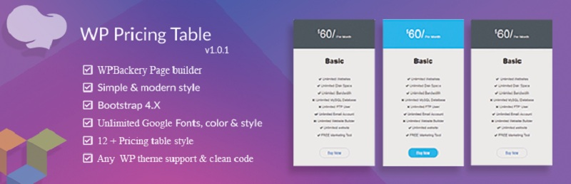 WP Pricing Table