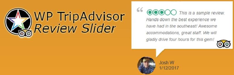 WP TripAdvisor Review Slider