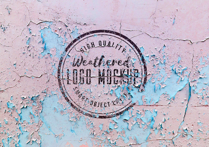 Weathered-Logo-Mockup