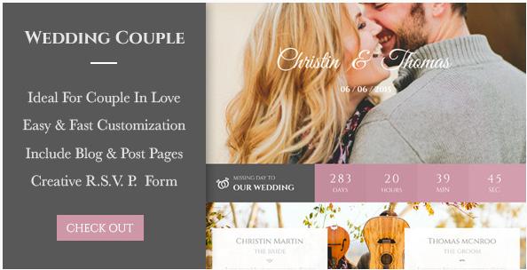 Wedding Couple - Love Page For Wedding Cerimony