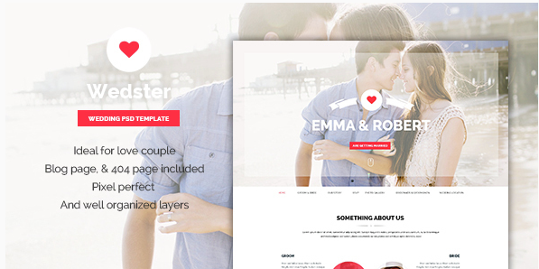 Wedster - Wedding Page for Wedding Ceremony