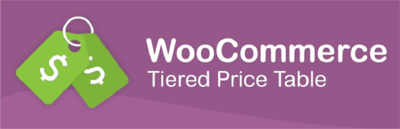 WooCommerce Tiered Price Table