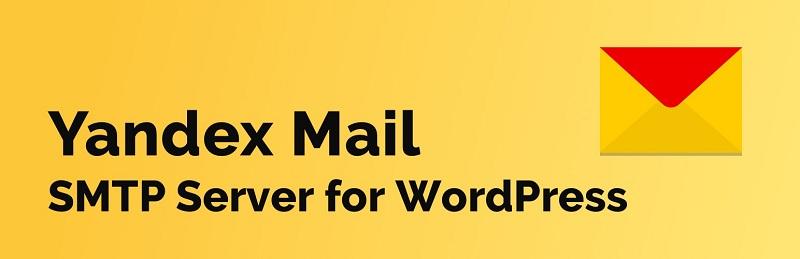 Yandex Mail SMTP Server for WordPress