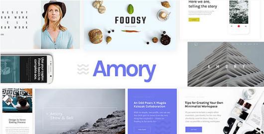 amory Best WordPress Technology Themes