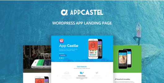 app castle Best WordPress Technology Themes