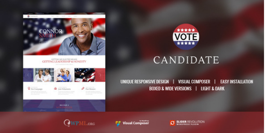 candidate new Best WordPress Political Themes