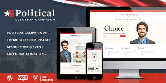 candidate Best WordPress Political Themes