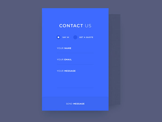 contact new