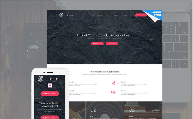 25+ Best Landing Page Templates of 2016