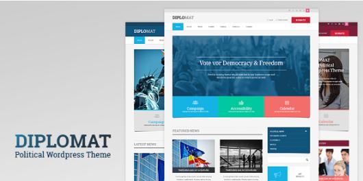 diplomat Best WordPress Political Themes