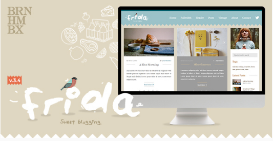 frida Best WordPress Feminine Themes