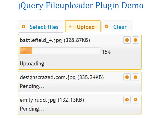 jquery file uploader