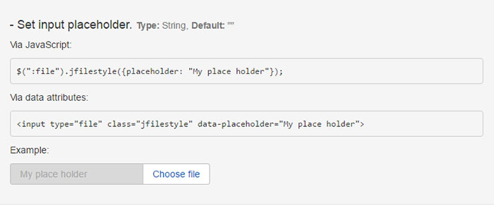 jquery-filestyle