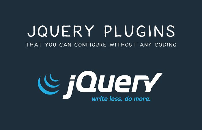 15+ Best JQuery Plugins 2016