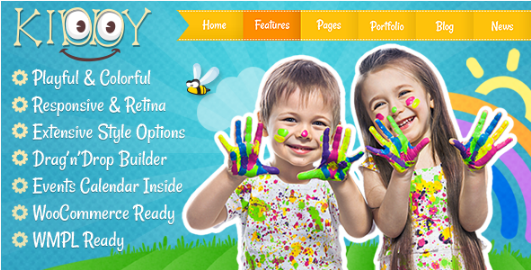 Best WordPress Kid's And Kindergarten Themes