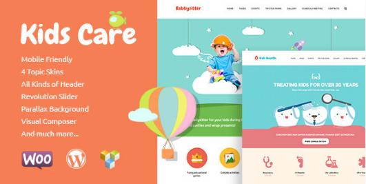 kids care best-wordpress-kids-and-kindergarten-themes