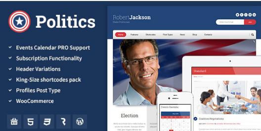 poli Best WordPress Political Themes