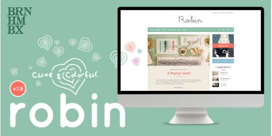 robin Best WordPress Feminine Themes