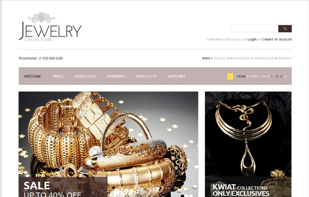 18+ Best Jewelry OpenCart Themes 2016