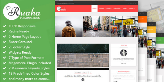 15+ Personal Bootstrap Templates 2016 For Personal Blog Or Website