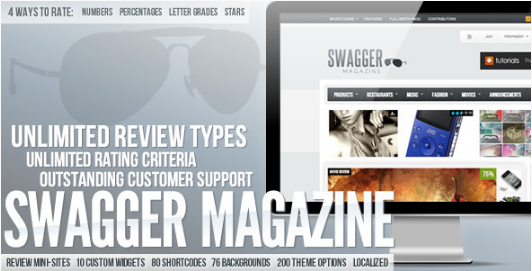 swagmag Best WordPress Review Themes